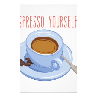 Espresso Yourself Stationery