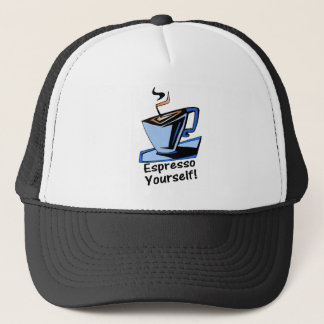 espresso-yourself trucker hat
