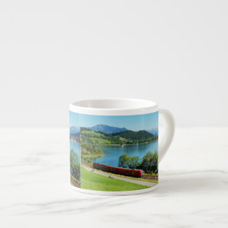 Espressotasse of large Alpsee with Immenstadt Espresso Cup