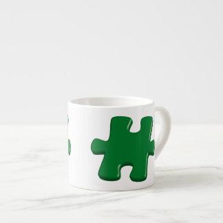 Espressotasse with puzzle part espresso cup