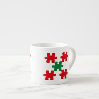 Espressotasse with puzzle parts espresso cup