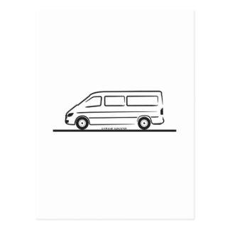 Esprinter de Mercedes Postal