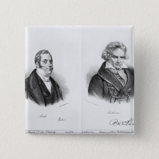 Esprit Auber  and Ludwig van Beethoven Button