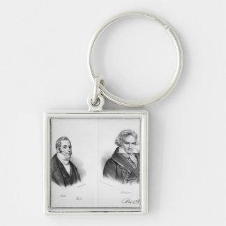Esprit Auber  and Ludwig van Beethoven Keychain