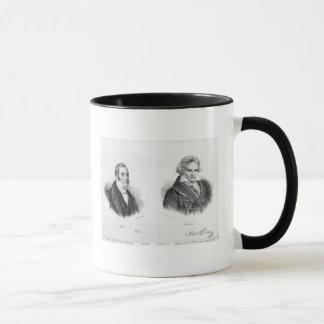 Esprit Auber  and Ludwig van Beethoven Mug