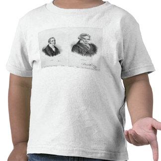 Esprit Auber  and Ludwig van Beethoven Tee Shirts
