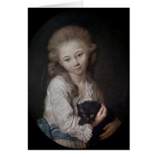 Esprit de Baculard d'Arnaud, 1776 Card