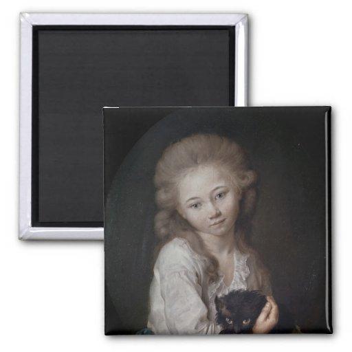 Esprit de Baculard d'Arnaud, 1776 Fridge Magnet