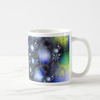 Espuma cristalina taza