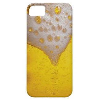 Espuma de la cerveza ligera funda para iPhone 5 barely there