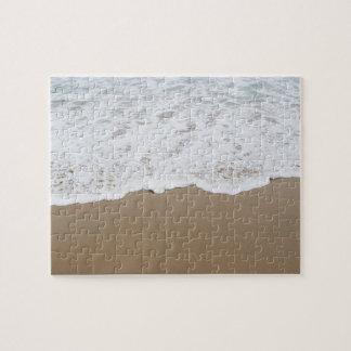 Espuma del mar, olas oceánicas puzzle
