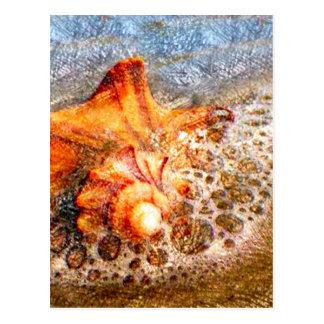 Espuma del mar tarjeta postal