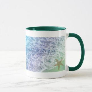 Espuma del mar taza