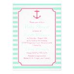 Espuma del mar y fiesta de bienvenida al bebé rosa comunicados