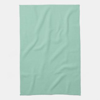 Espuma ligera del mar de la tendencia del color de toalla de cocina