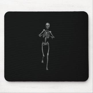 Esqueleto 1 del horror alfombrillas de raton