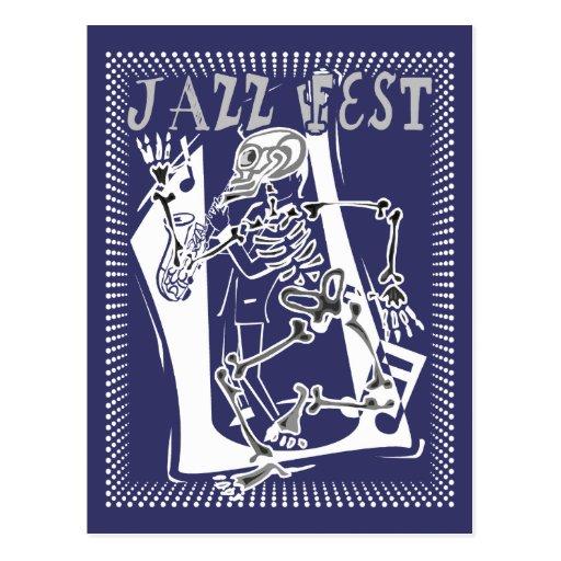Esqueleto 2011 del Fest del jazz Postal