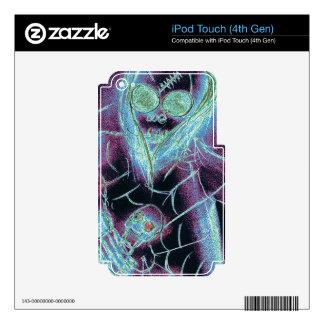 Esqueleto asustadizo perfecto iPod touch 4G skin
