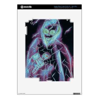 Esqueleto asustadizo perfecto pegatina skin para iPad 3