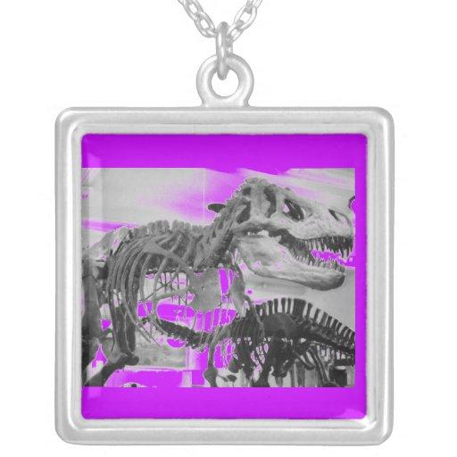 Esqueleto B de T-Rex+W Colgante