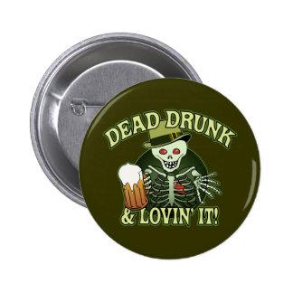Esqueleto bebido muerto pin