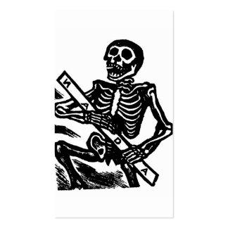 Esqueleto, circa México 1951 Tarjetas De Visita