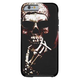 Esqueleto con actitud funda de iPhone 6 tough