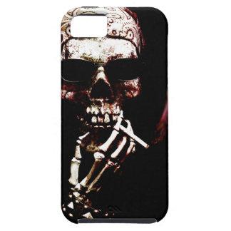 Esqueleto con actitud iPhone 5 Case-Mate carcasas