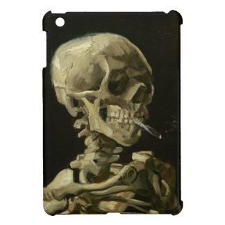 Esqueleto con caso del iPad brillante del