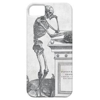 Esqueleto con la caja de la casamata del cráneo iPhone 5 Case-Mate carcasa