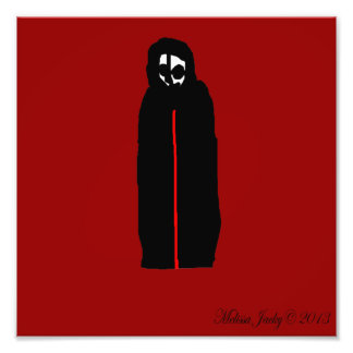 Esqueleto con túnica fotografia