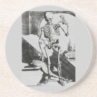 Esqueleto de Anatomia Humani Corporis Posavaso Para Bebida