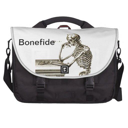 Esqueleto de Bonefide Bolsa De Ordenador