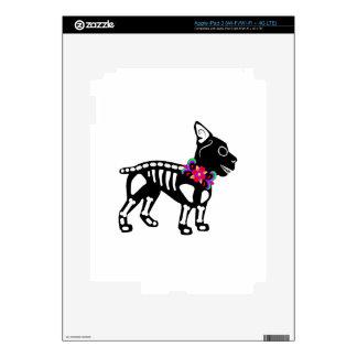 Esqueleto de Boston Terrier Pegatina Skin Para iPad 3