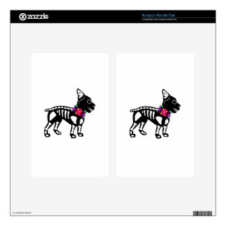 Esqueleto de Boston Terrier Skin Para Kindle Fire
