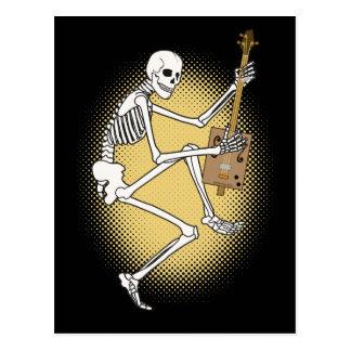 Esqueleto de CBG Tarjeta Postal