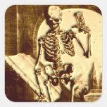 Esqueleto de Halloween Colcomania Cuadrada