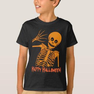 ¡Esqueleto de Halloween! Playera