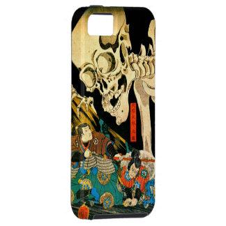 Esqueleto de Kuniyoshi convocado por la bruja iPhone 5 Case-Mate Cobertura