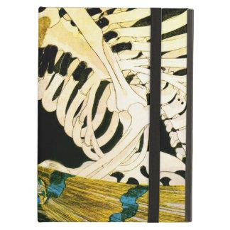 Esqueleto de Kuniyoshi convocado por la bruja