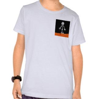Esqueleto de la araña de HI54AUTM Camisetas