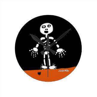 Esqueleto de la araña de HI54AUTM Relojes De Pared