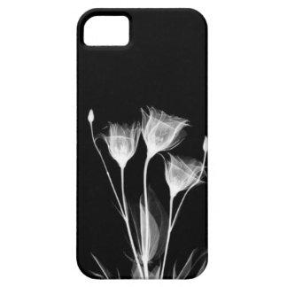 Esqueleto de la flor de la sombra funda para iPhone 5 barely there