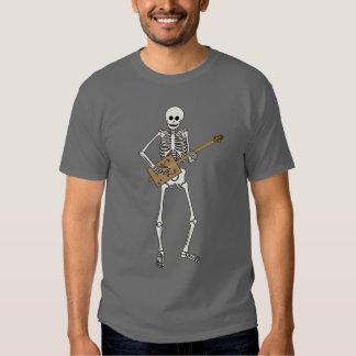 Esqueleto de la guitarra de la caja de cigarros poleras