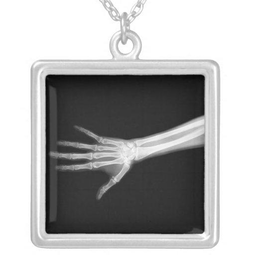 Esqueleto de la radiografía - Halloween - radiolog Colgante