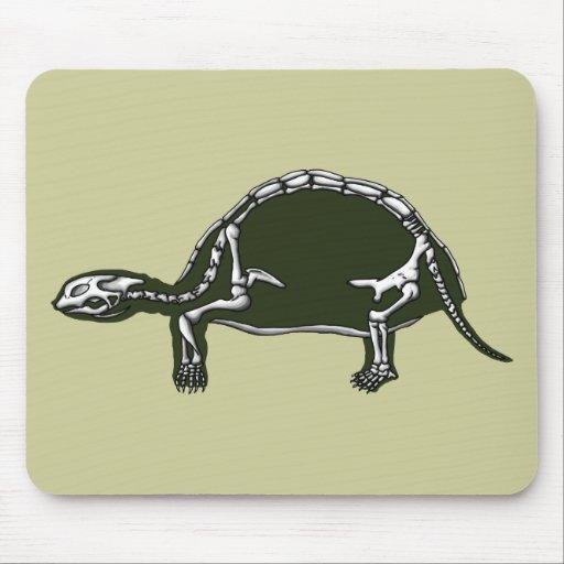 esqueleto de la tortuga mouse pad
