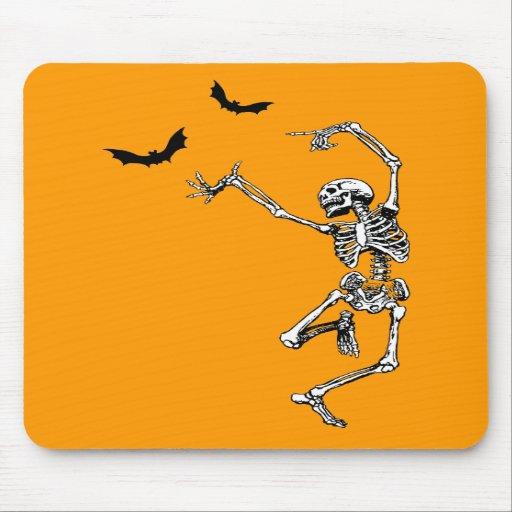 Esqueleto del baile tapetes de raton