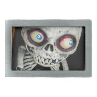 Esqueleto del bebé hebillas de cinturon rectangulares