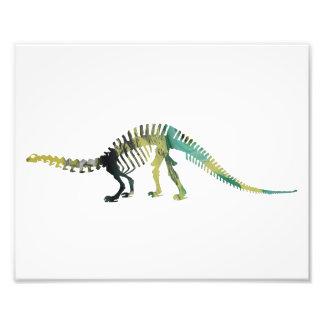 esqueleto del brontosaurus fotografía