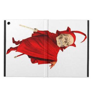 Esqueleto del diablo rojo